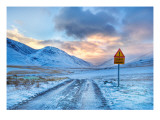 Don't Worry Mom – The Roads in Iceland Aren't That Bad Premium Photographic Print by Trey Ratcliff