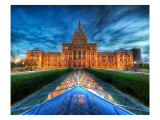 The State Capitol of Texas at Dusk Premium Photographic Print by Trey Ratcliff