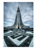 The Labyrinth Rocket Premium Photographic Print by Trey Ratcliff