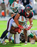 Brian Cushing 2011 Action Photo