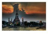 One Night in Bangkok Premium Photographic Print by Trey Ratcliff