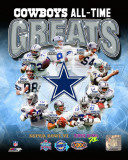 Dallas Cowboys All Time Greats Composite Fotografía