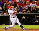 Mike Napoli 3 run home run Game 4 of the 2011 MLB World Series Action (17) Photo