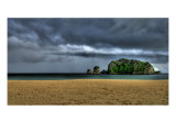 The Blue Before the Storm Premium Photographic Print by Trey Ratcliff