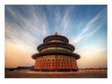The Temple of Heaven Premium Photographic Print by Trey Ratcliff