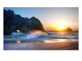 The Edge of Big Sur Premium Photographic Print by Trey Ratcliff