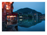 Night Settles In Feung Huang Premium Photographic Print by Trey Ratcliff