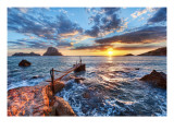 The Last Sunset Premium Photographic Print by Trey Ratcliff