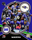 Baltimore Ravens 2011 Team Composite Fotografía