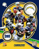 San Diego Chargers 2011 Team Composite Photographie