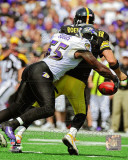 NFL Terrell Suggs 2011 Action Photo