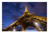 Under the Eiffel Premium Photographic Print by Trey Ratcliff