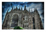 Dark Duomo Premium Photographic Print by Trey Ratcliff