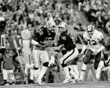 Marcus Allen & Jim Plunkett Super Bowl XVIII Action Photo