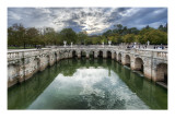 Roman Baths in Nimes Premium Photographic Print by Trey Ratcliff