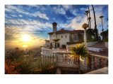 Sunset at Hearst Castle Premium Photographic Print by Trey Ratcliff
