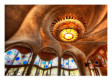 The Gaudi Cheesecake Factory Premium Photographic Print by Trey Ratcliff