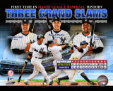 New York Yankees 3 Grand Slams in 1 Game Composite Photo