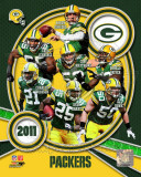 Green Bay Packers 2011 Team Composite Fotografía