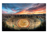 The Gladiator Arena at Sunset Premium Photographic Print by Trey Ratcliff