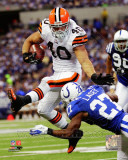 Peyton Hillis 2011 Action Photo
