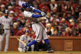 2011 World Series Game 6 - Texas Rangers v St Louis Cardinals, St Louis, MO - Oct. 27: Ian Kinsler Photographic Print by Jamie Squire
