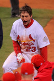 2011 World Series Game 6 - Texas Rangers v St Louis Cardinals, St Louis, MO - Oct. 27: David Freese Photographic Print by Doug Pensinger