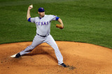 2011 World Series Game 6 - Texas Rangers v St Louis Cardinals, St Louis, MO - Oct. 27: Colby Lewis Photographic Print by Dilip Vishwanat