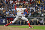 St Louis Cardinals v Milwaukee Brewers - Game Six, Milwaukee, WI - October 16: Octavio Dotel Photographic Print by Christian Petersen