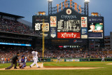 Texas Rangers v Detroit Tigers - Playoffs Game Five, Detroit, MI - October 13: Delmon Young Photographic Print by Leon Halip