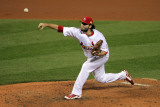 2011 World Series Game 6 - Texas Rangers v St Louis Cardinals, St Louis, MO - Oct. 27: Lance Lynn Photographic Print by Doug Pensinger