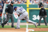 Texas Rangers v Detroit Tigers - Playoffs Game Five, Detroit, MI - October 13: Adrian Beltre Photographic Print by Leon Halip
