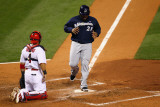Milwaukee Brewers v St. Louis Cardinals - Game Four, St Louis, MO - October 13: Prince Fielder Photographic Print by Dilip Vishwanat
