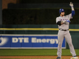 Texas Rangers v Detroit Tigers - Playoffs Game Four, Detroit, MI - October 12: Josh Hamilton Photographic Print by Harry How