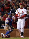 2011 World Series Game 6 - Texas Rangers v St Louis Cardinals, St Louis, MO - Oct. 27: Allen Craig Photographic Print by Jamie Squire