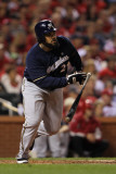 Milwaukee Brewers v St. Louis Cardinals - Game Four, St Louis, MO - October 13: Prince Fielder Photographic Print by Jamie Squire
