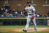 Texas Rangers v Detroit Tigers - Playoffs Game Four, Detroit, MI - October 12: Neftali Feliz Photographic Print by Harry How