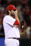 2011 World Series Game 6 - Texas Rangers v St Louis Cardinals, St Louis, MO - Oct. 27: Lance Lynn Photographic Print by Ezra Shaw