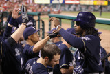 Milwaukee Brewers v St. Louis Cardinals - Game Four, St Louis, MO - October 13: Rickie Weeks Photographie par Christian Petersen