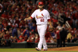 2011 World Series Game 6 - Texas Rangers v St Louis Cardinals, St Louis, MO - Oct. 27: Lance Lynn Photographic Print by Jamie Squire