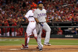 2011 World Series G. 6 - Texas Rangers v St Louis Cardinals, St Louis, MO - Oct. 27: Adrian Beltre Photographic Print by Ezra Shaw