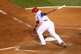 2011 World Series G. 6 - Texas Rangers v St Louis Cardinals, St Louis, MO - Oct. 27: Yadier Molina Fotografie-Druck von Dilip Vishwanat