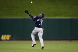 Milwaukee Brewers v St Louis Cardinals - Game Five, St Louis, MO - October 14: Yuniesky Betancourt Photographic Print by Jamie Squire