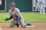Texas Rangers v Detroit Tigers - Playoffs Game Five, Detroit, MI - October 13: Ian Kinsler Photographic Print by Harry How