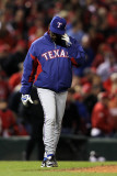 2011 World Series G. 6 - Texas Rangers v St Louis Cardinals, St Louis, MO - Oct. 27: Ron Washington Photographic Print by Jamie Squire