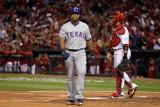2011 World Series G. 6 - Texas Rangers v St Louis Cardinals, St Louis, MO - Oct. 27: Adrian Beltre Photographic Print by Ezra Shaw