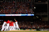 Detroit Tigers v Texas Rangers - Playoffs Game Six, Arlington, TX - October 15 Photographic Print by Harry How