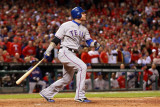 2011 World Series G. 6 - Texas Rangers v St Louis Cardinals, St Louis, MO - Oct. 27: Josh Hamilton Photographic Print by Jamie Squire