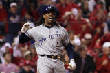 Milwaukee Brewers v St. Louis Cardinals - Game Three, St Louis, MO - October 12: Rickie Weeks Photographie par Christian Petersen