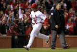 2011 World Series Game 6 - Texas Rangers v St Louis Cardinals, St Louis, MO - October 27: Jon Jay Photographic Print by Jamie Squire